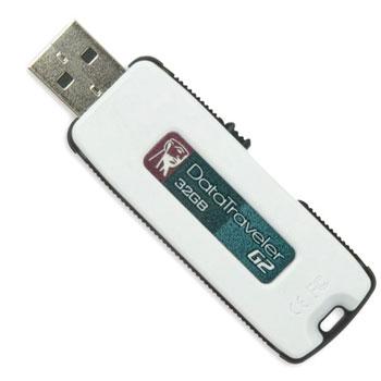 זכרון נייד USB  KINGSTON דגם DTIG2/32GB