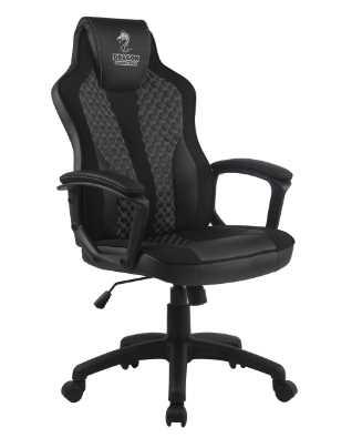 כסא גיימינג Dragon Sniper צבע שחור אפור - תמונה 1
