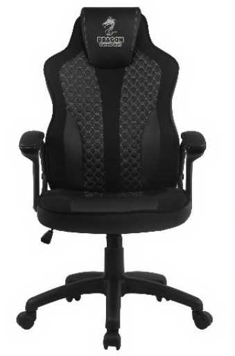 כסא גיימינג Dragon Sniper צבע שחור אפור - תמונה 2