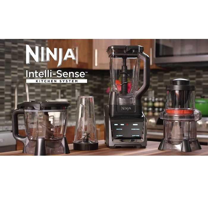 בלנדר 4 ב 1 Ninja CT683 INTELLI-SENSE נינג'ה - תמונה 3