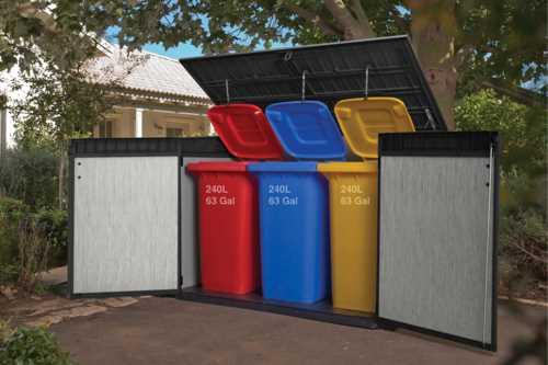 מחסן גינה כתר פלסטיק 17204255 גרנדה - תמונה 4