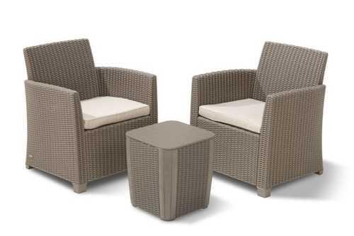 מערכת ישיבה מיה בלקוני MIA BALCONY קפוצ'ינו 234079 - תמונה 1