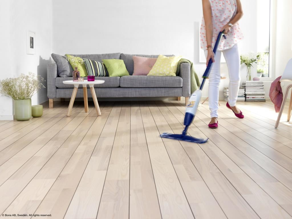 ספריי-מופ  - מנקה רצפות עץ בגימור לכה מבית BONA - תמונה 6