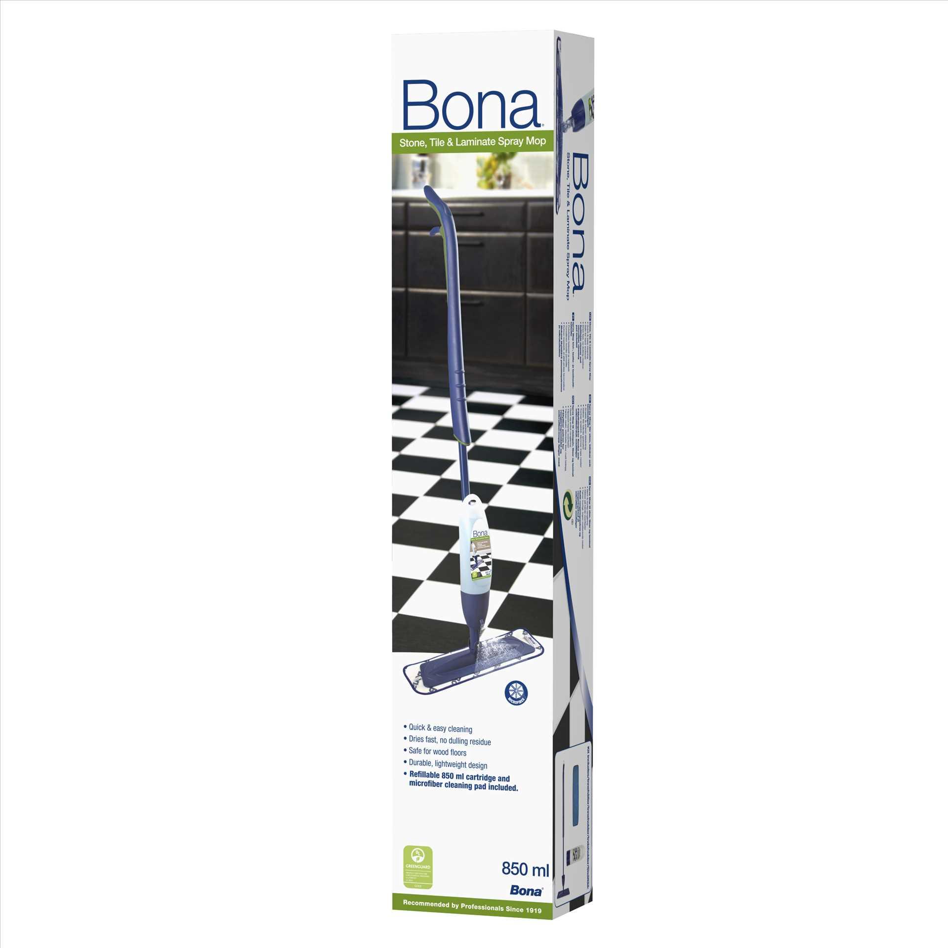 ספריי-מופ  - מנקה רצפות עץ אריחים ולמינציה מבית BONA - תמונה 2
