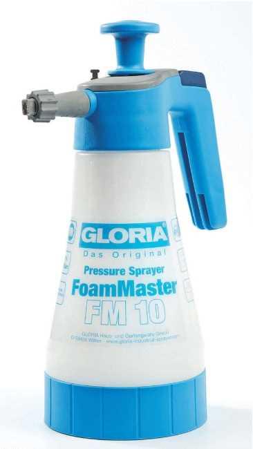 מרסס לחץ ידני 1 ליטר עוצמתי לניקוי בקצף Gloria - תמונה 1