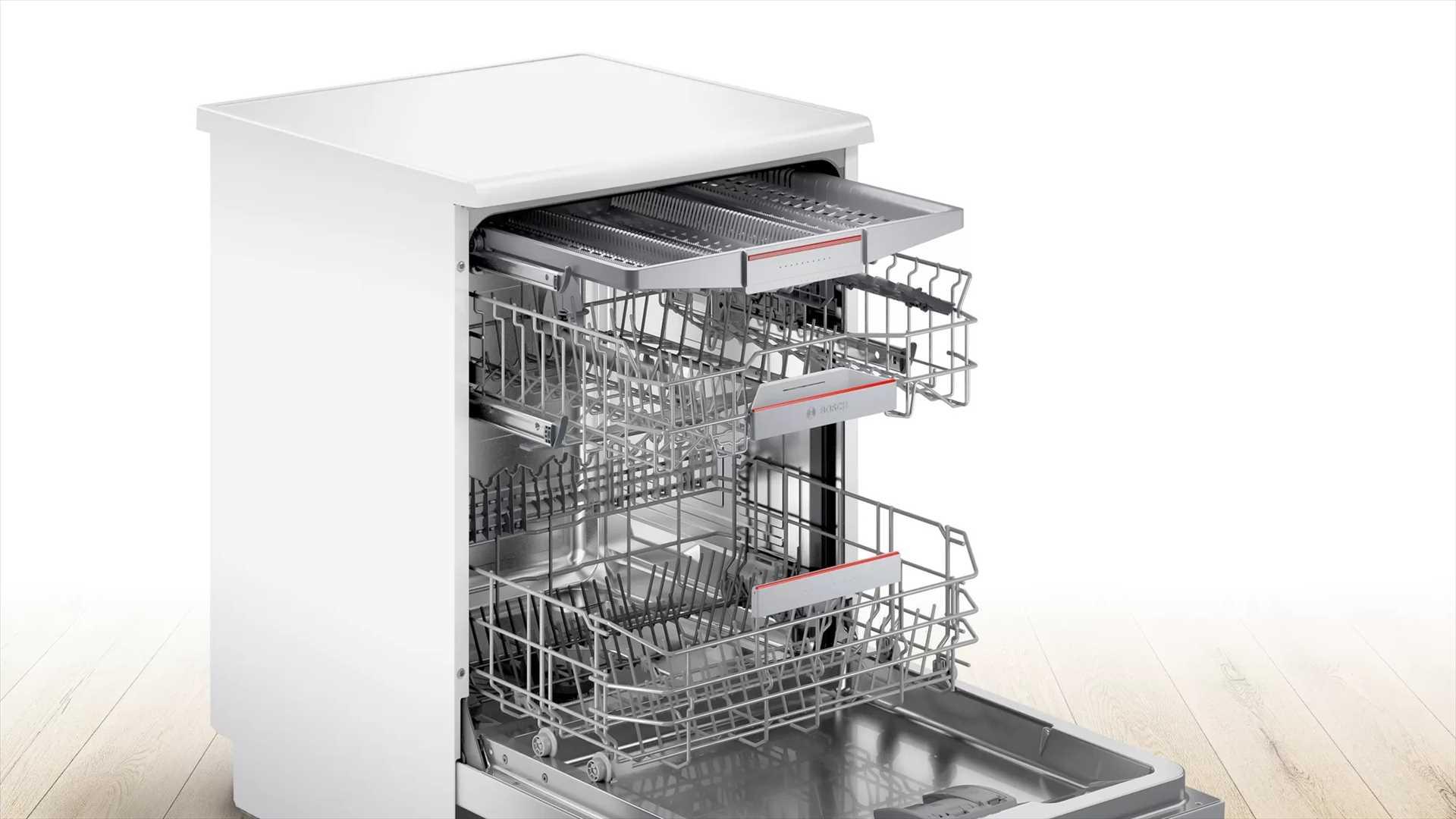 מדיח כלים רחב לבן Bosch SMS4HCW48E בוש - תמונה 3