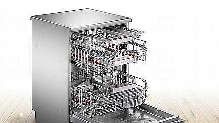 מדיח כלים רחב דמוי נירוסטה Bosch SMS6ZDI48E בוש - תמונה 3