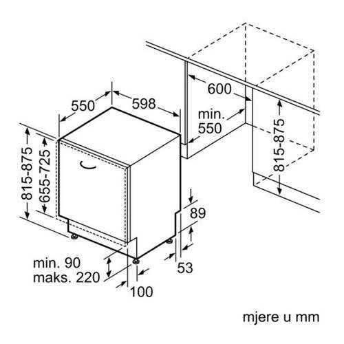 מדיח כלים אינטגרלי מלא Bosch SMV4HDX52Y בוש - תמונה 6