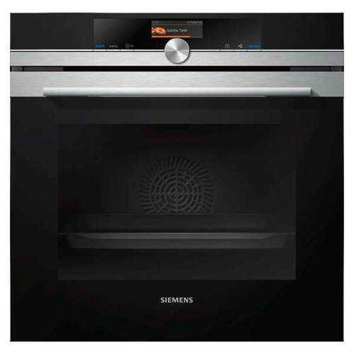 תנור בנוי שחור 71 ליטר 4D טורבו Siemens HB636GBS1 סימנס - תמונה 1