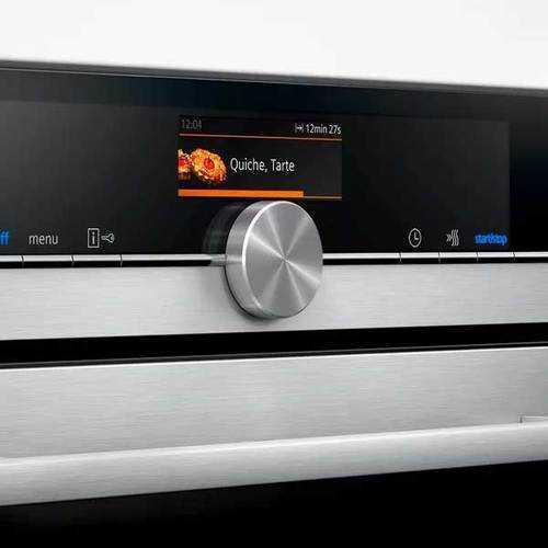 תנור בנוי שחור 71 ליטר 4D טורבו Siemens HB636GBS1 סימנס - תמונה 3