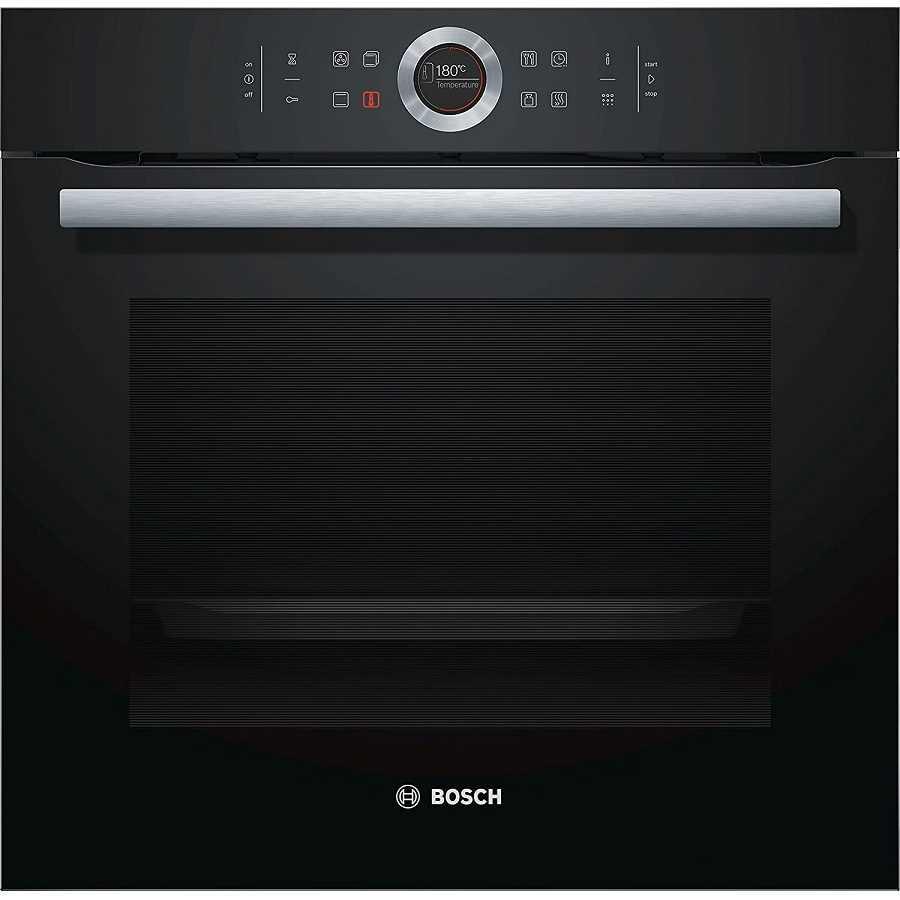 תנור בנוי פירוליטי שחור 71 ליטר Bosch HBG675BB1 בוש - תמונה 1