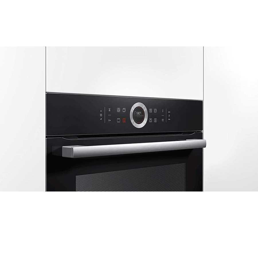 תנור בנוי פירוליטי שחור 71 ליטר Bosch HBG675BB1 בוש - תמונה 2