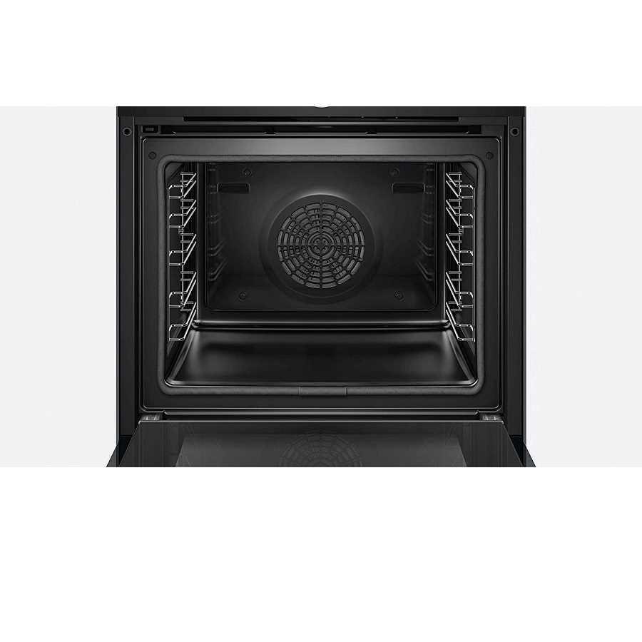 תנור בנוי פירוליטי שחור 71 ליטר Bosch HBG675BB1 בוש - תמונה 4