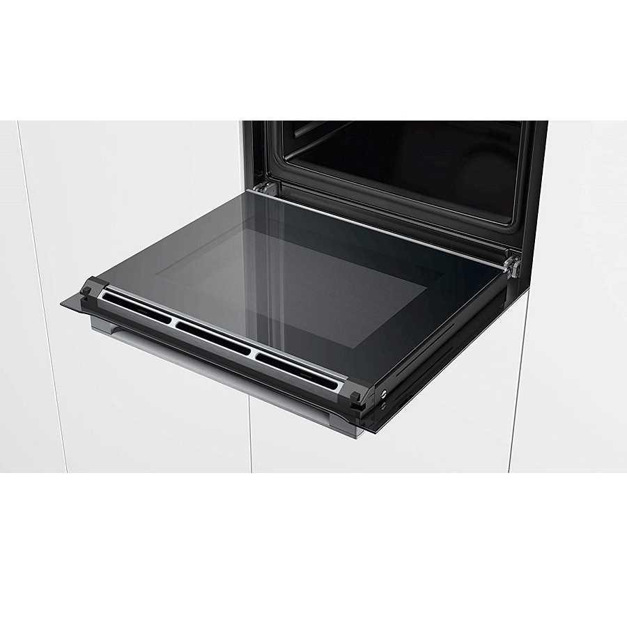 תנור בנוי פירוליטי שחור 71 ליטר Bosch HBG675BB1 בוש - תמונה 5