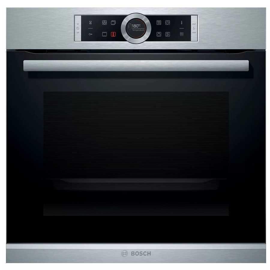 תנור בנוי פירוליטי נירוסטה 71 ליטר Bosch HBG675BS2 בוש - תמונה 1