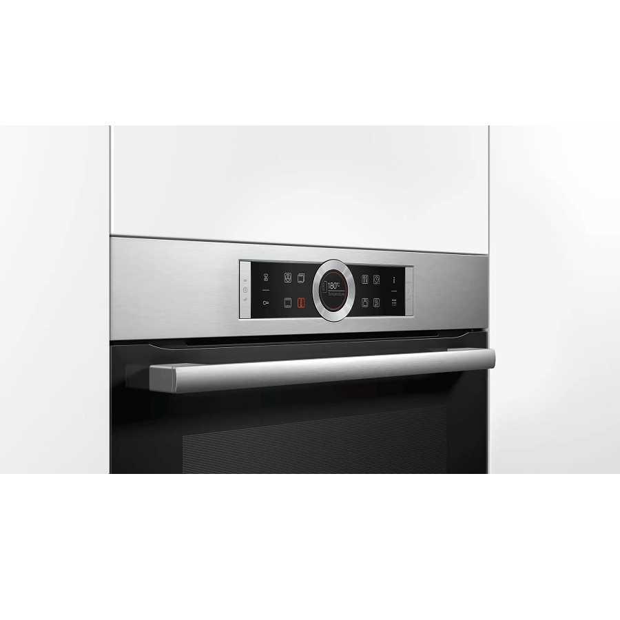 תנור בנוי פירוליטי נירוסטה 71 ליטר Bosch HBG675BS2 בוש - תמונה 3