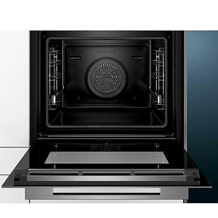 תנור בנוי 71 ליטר פירוליטי שחור נירוסטה Siemens HB675G0S1 סימנס - תמונה 2