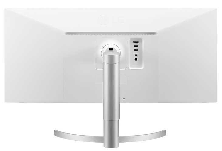 מסך מחשב מקצועי 34 אינטש LG 34WN650-W אל ג'י - תמונה 5