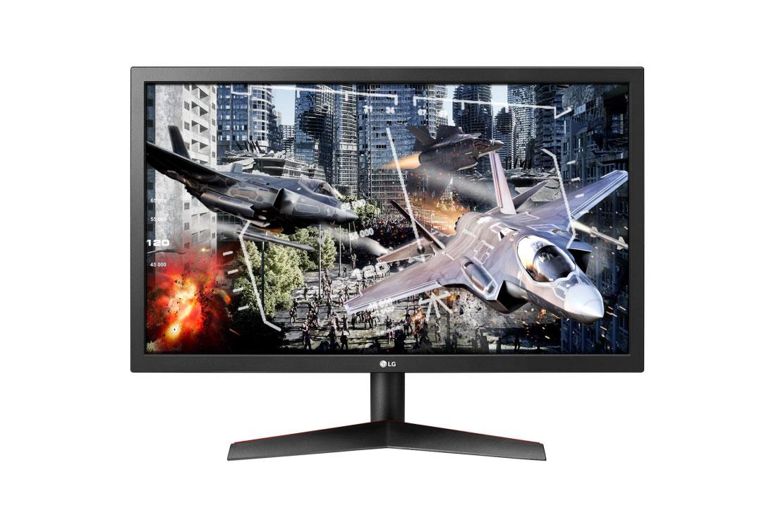 מסך מחשב 24 אינץ' מקצועי LG 24GL600F אל ג'י - תמונה 1