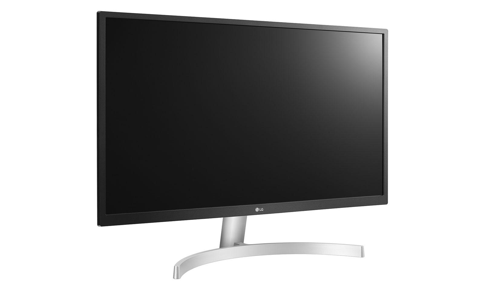 מסך מחשב 27 אינטש 4K מקצועי LG 27UL500-W אל ג'י - תמונה 2