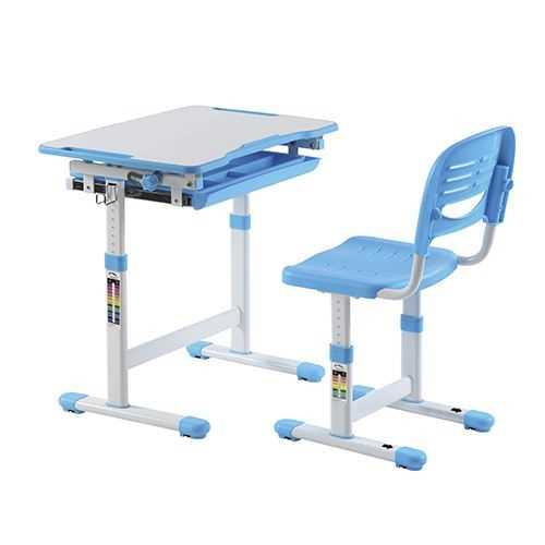 שולחן וכסא מתכווננים לילדים בגיל הגן צבע כחול BIG BOSS B210 - תמונה 1