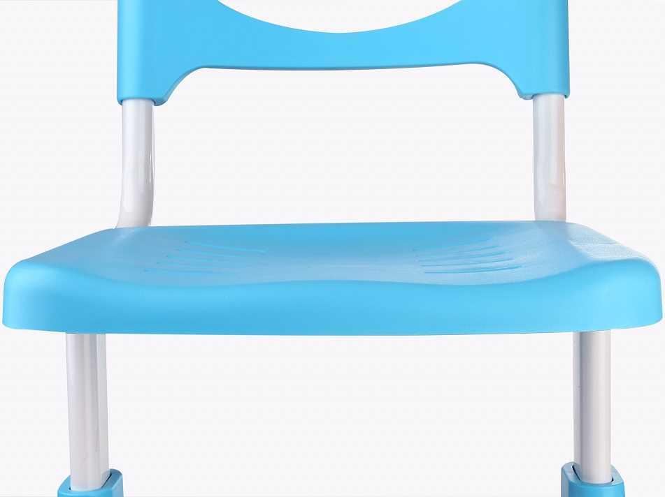 שולחן וכסא מתכווננים לילדים בגיל בית הספר צבע כחול BIG BOSS C360 - תמונה 9