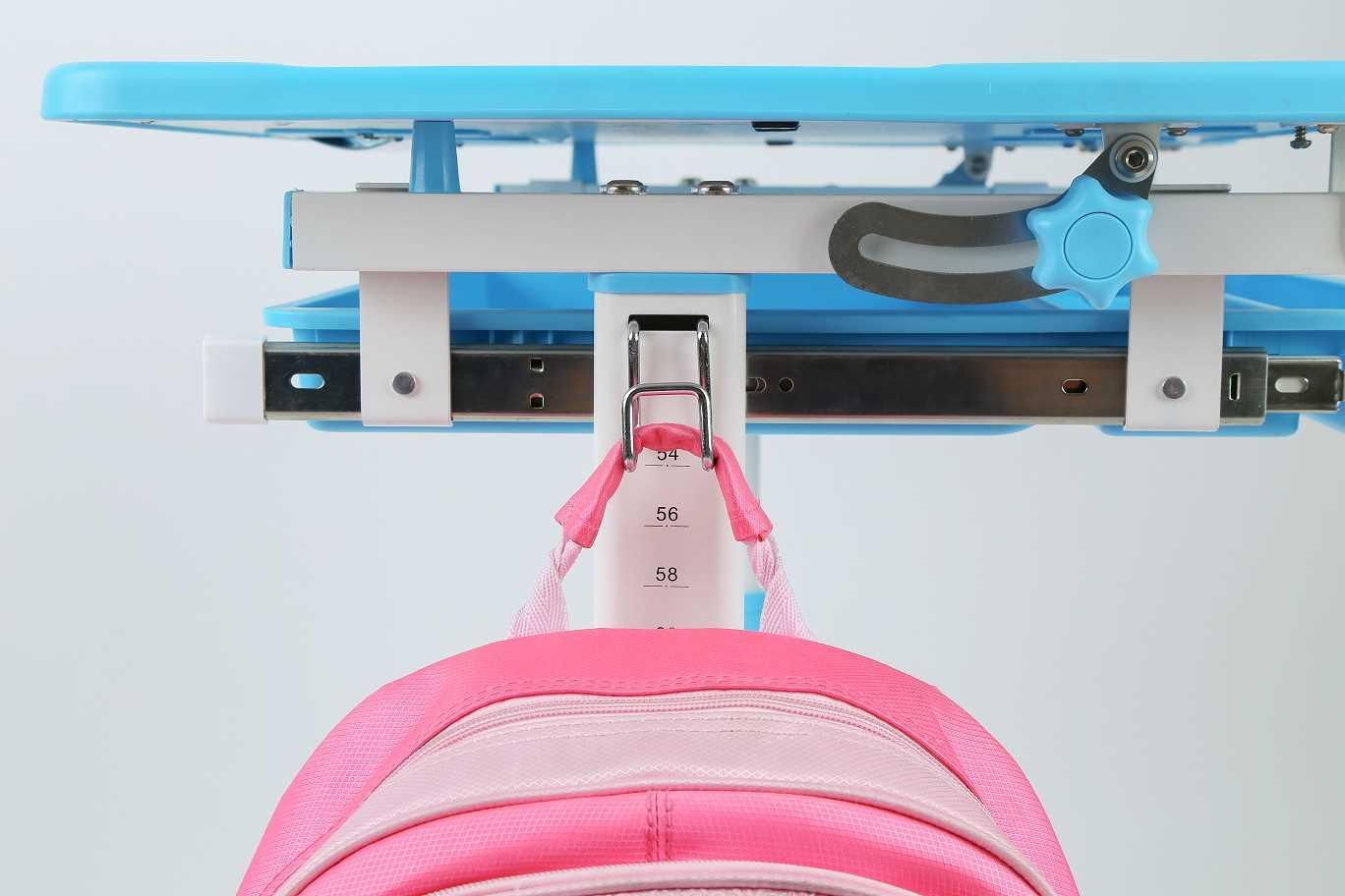 שולחן וכסא מתכווננים לילדים בגיל הגן צבע ורוד BIG BOSS B210 - תמונה 7