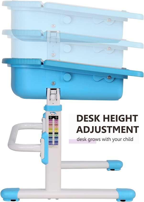 שולחן וכסא מתכווננים לילדים בגיל בית הספר צבע ורוד BIG BOSS C360 - תמונה 3