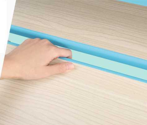 שולחן וכסא מתכווננים לילדים בגיל בית הספר צבע ורוד BIG BOSS C360 - תמונה 10