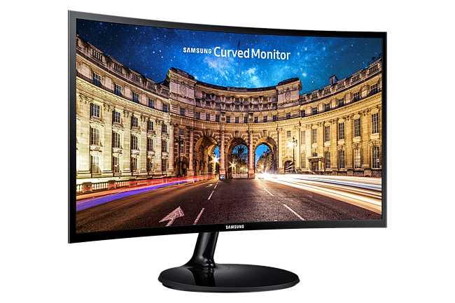 מסך מחשב 24 אינטש Samsung C24F390FH סמסונג - תמונה 11