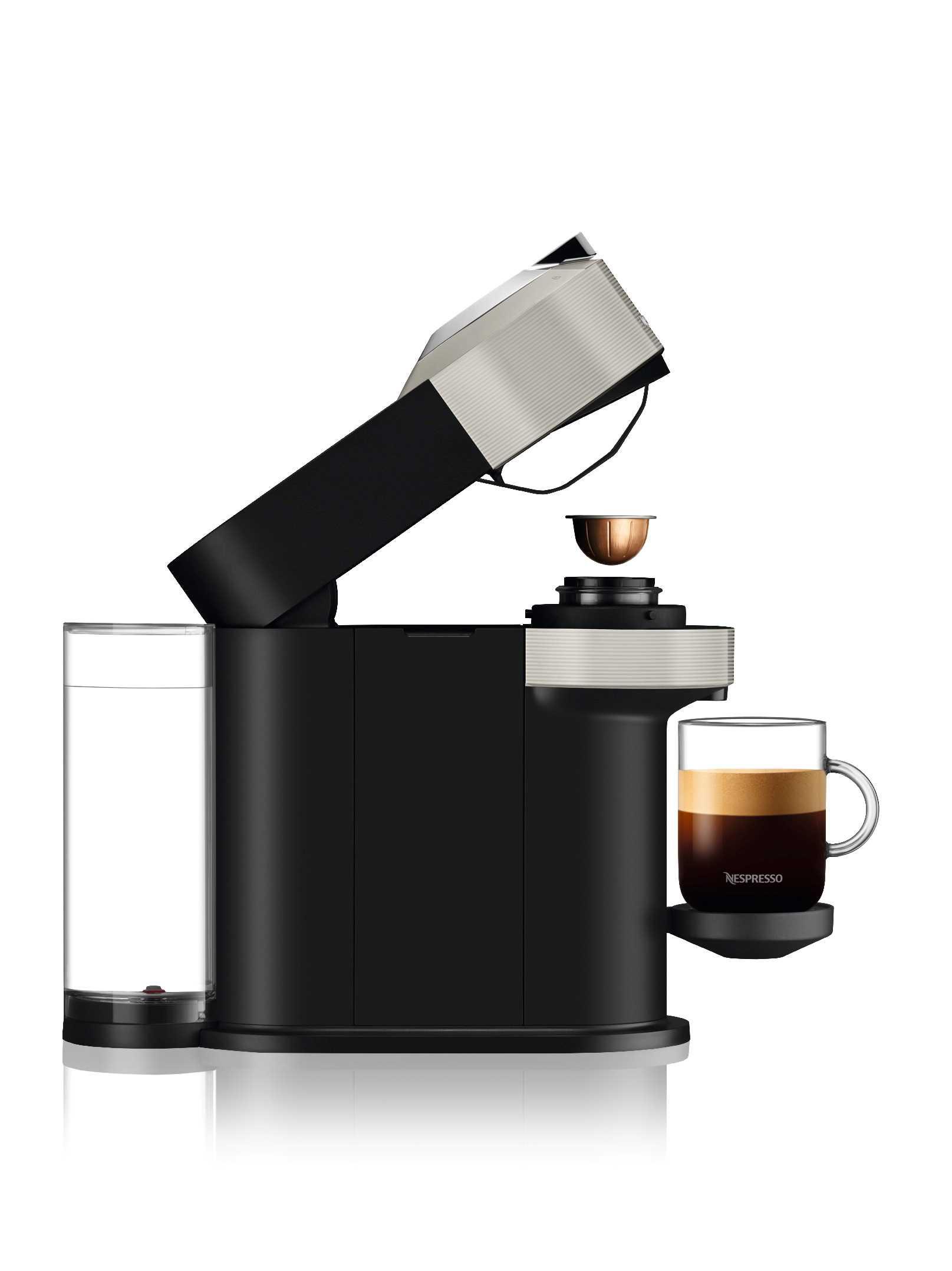 מכונת קפה NESPRESSO VertuoNext GCV1 אפור נספרסו - תמונה 4