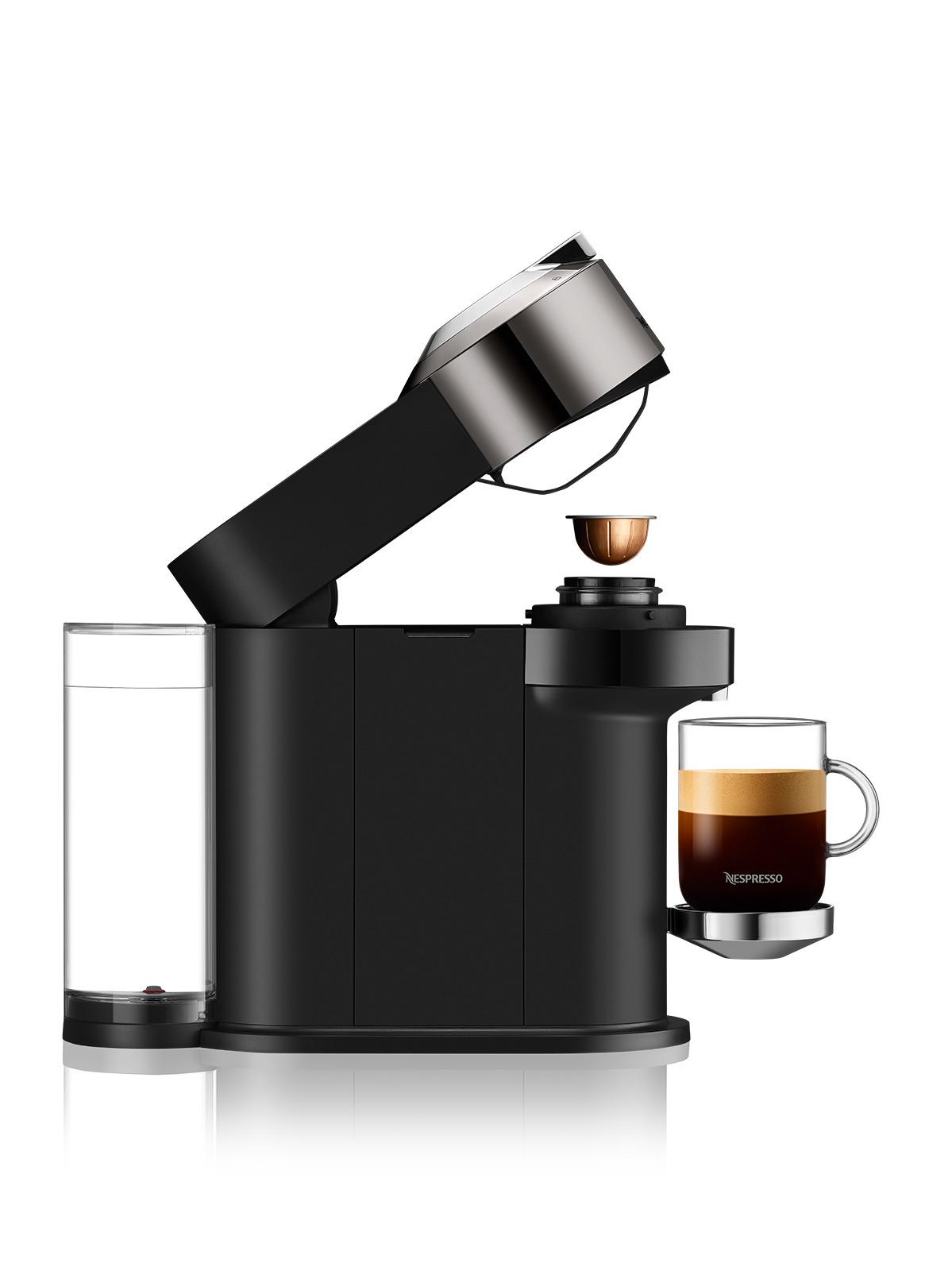 מכונת קפה NESPRESSO VertuoNext GCV1 כרום נספרסו - תמונה 4