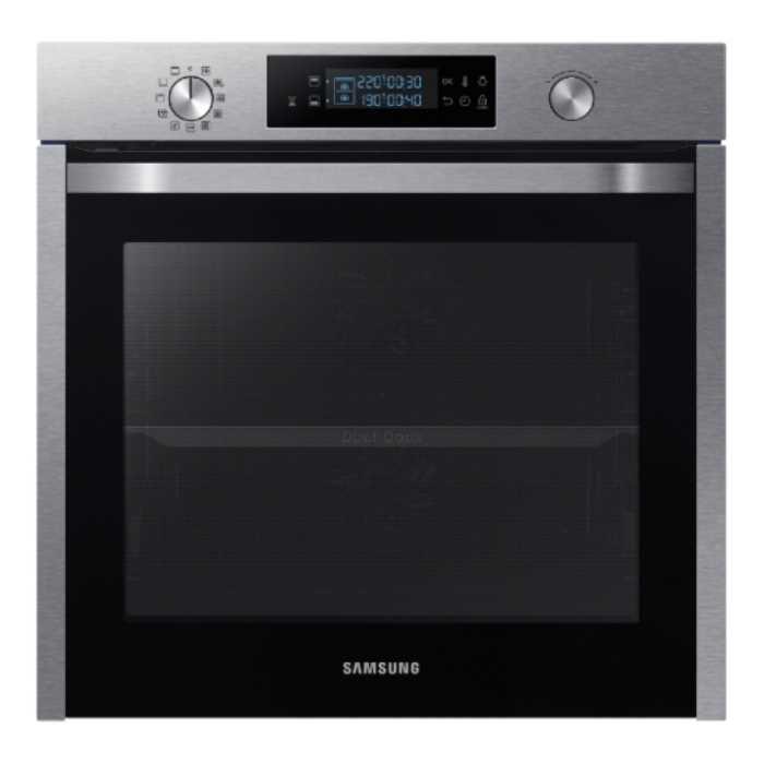 תנור בנוי פירוליטי 75 ליטר נירוסטה Samsung NV75K5571RS Dual Cooking סמסונג - תמונה 1
