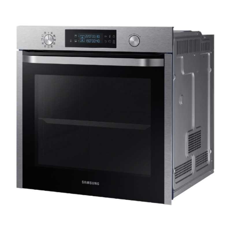 תנור בנוי פירוליטי 75 ליטר נירוסטה Samsung NV75K5571RS Dual Cooking סמסונג - תמונה 2