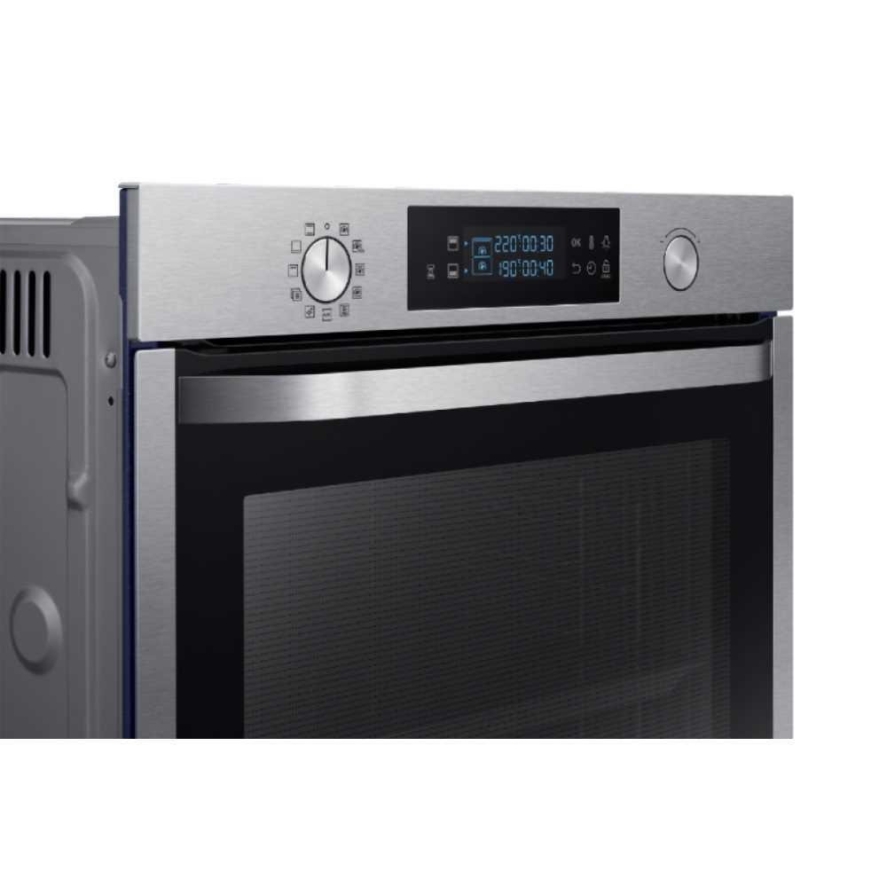 תנור בנוי פירוליטי 75 ליטר נירוסטה Samsung NV75K5571RS Dual Cooking סמסונג - תמונה 3