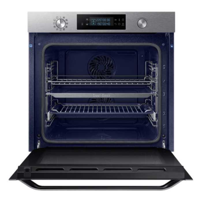 תנור בנוי פירוליטי 75 ליטר נירוסטה Samsung NV75K5571RS Dual Cooking סמסונג - תמונה 4
