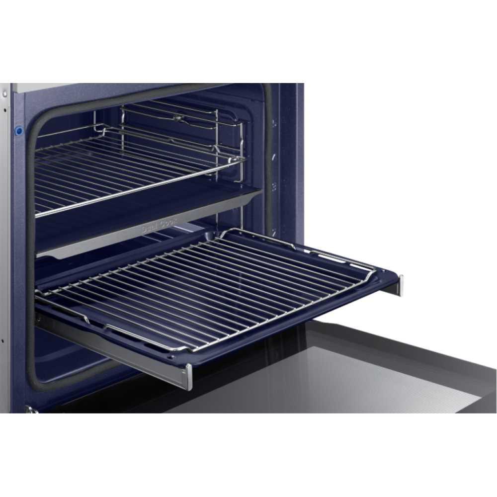 תנור בנוי פירוליטי 75 ליטר נירוסטה Samsung NV75K5571RS Dual Cooking סמסונג - תמונה 5