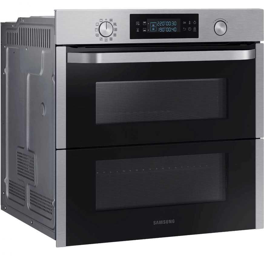 תנור בנוי פירוליטי 75 ליטר נירוסטה Samsung NV75N5671RS Dual Cook Flex סמסונג - תמונה 2