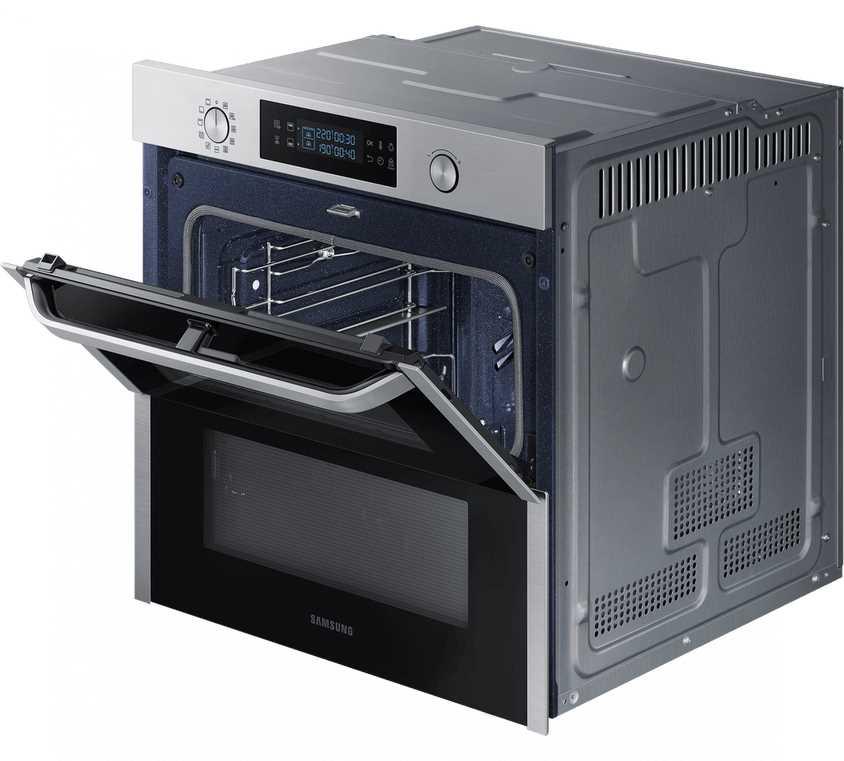 תנור בנוי פירוליטי 75 ליטר נירוסטה Samsung NV75N5671RS Dual Cook Flex סמסונג - תמונה 3