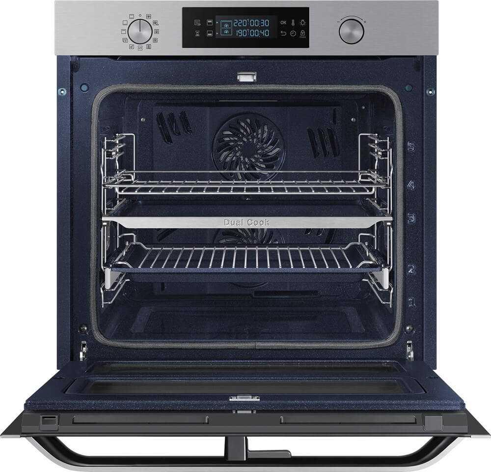 תנור בנוי פירוליטי 75 ליטר נירוסטה Samsung NV75N5671RS Dual Cook Flex סמסונג - תמונה 4