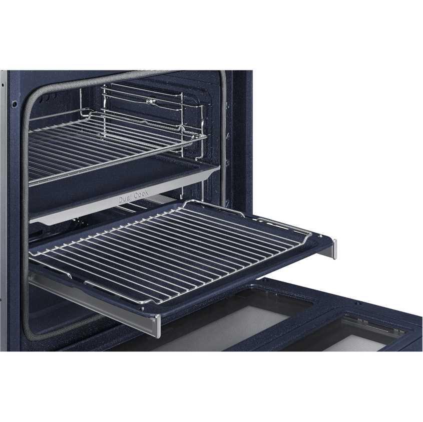 תנור בנוי פירוליטי 75 ליטר נירוסטה Samsung NV75N5671RS Dual Cook Flex סמסונג - תמונה 5