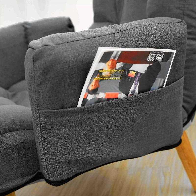 כורסת טלוויזיה מפנקת LAZI COMFORT צבע אפור מבית MY CASA - תמונה 6