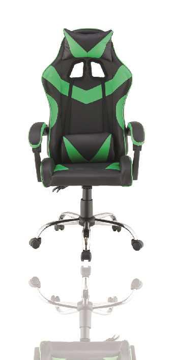 כסא גיימרים אורתופדי דגם PRO3 מבית NINJA EXTRIM שחור ירוק - תמונה 5