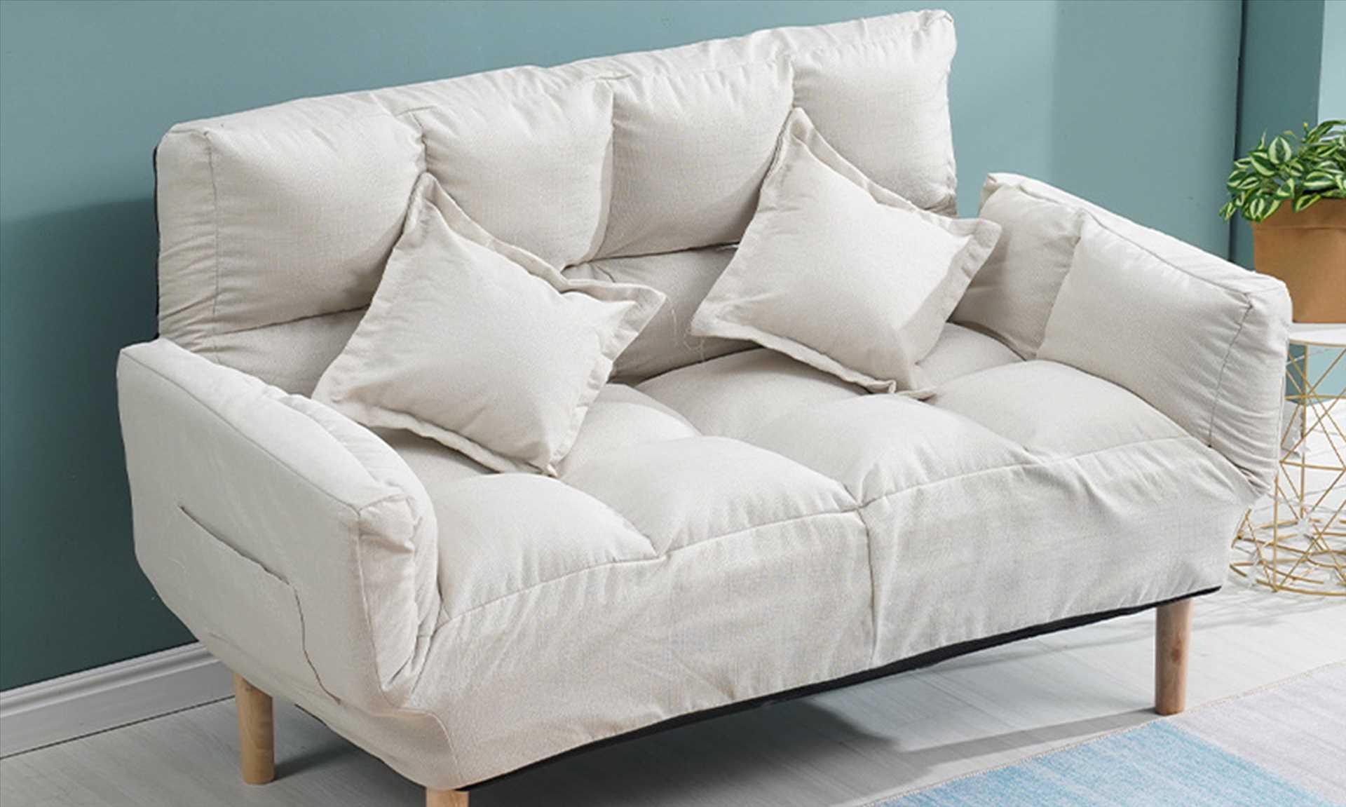 ספה זוגית דגם NEW BERRY צבע בז' מבית MY CASA - תמונה 4