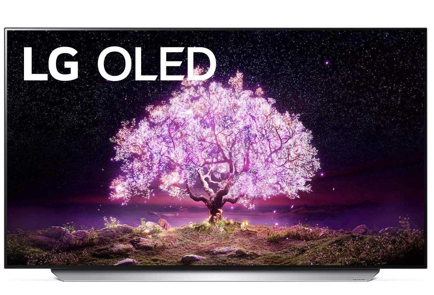 טלוויזיה 77 אינץ' דגם OLED 77C1PVA  בטכנולוגיית LG 4K Ultra HD אל ג'י - תמונה 1