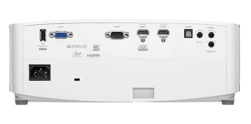 מקרן UHD35 4K עוצמת הארה 3600 לומנס Optoma אופטומה - תמונה 4