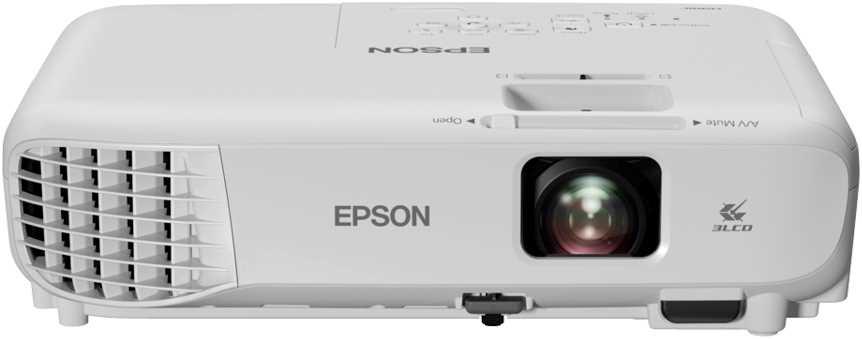 מקרן EBX06 XGA עוצמת הארה 3600 לומנס EPSON אפסון - תמונה 2