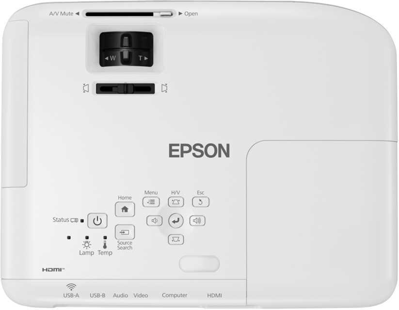 מקרן EBX06 XGA עוצמת הארה 3600 לומנס EPSON אפסון - תמונה 4