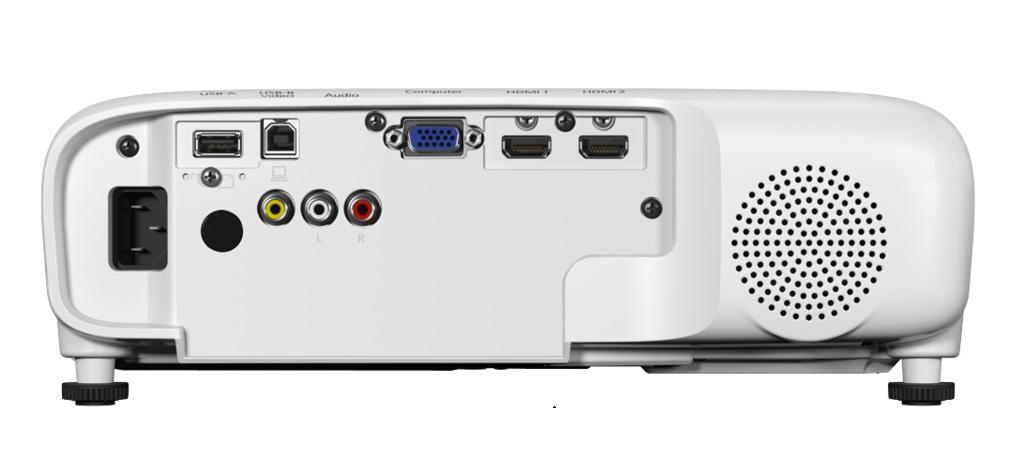 מקרן EBFH52 Full HD עוצמת הארה 4000 לומנס EPSON אפסון - תמונה 2