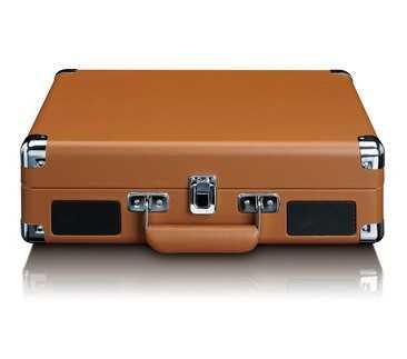 פטיפון LENCO מזוודה עם רמקולים מובנים דגם TT-10BN לנקו - תמונה 4